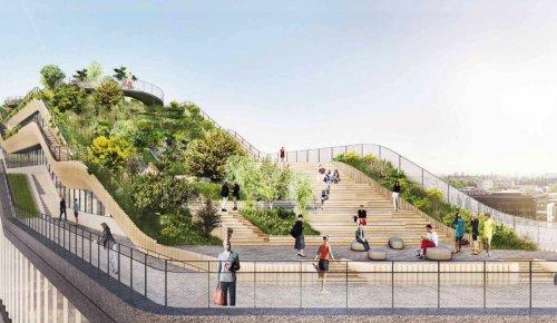 В Лондоне построят новую штаб-квартиру Google с садом и беговой дорожкой на крыше (8 фото)