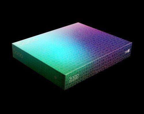 Гигантский пазл из 5000 элементов с изображением цветовой гаммы CMYK (5 фото + видео)