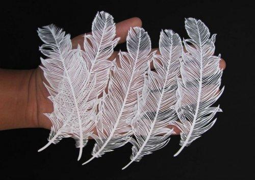 Бумажные шедевры Парта Котекара, вырезанные из бумаги (22 фото)
