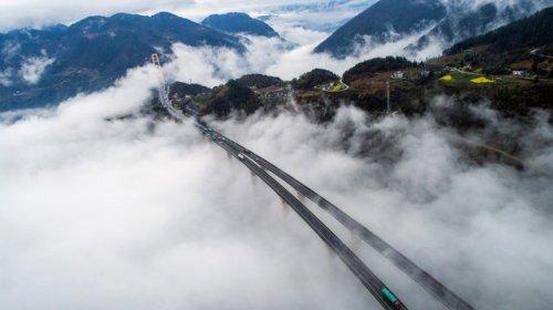 Фотоколлекция впечатляющих мостов (13 фото)