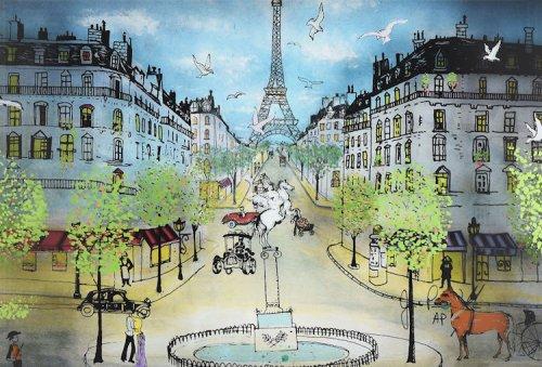 Трёхмерная витрография Жана-Пьера Вейла (15 фото)