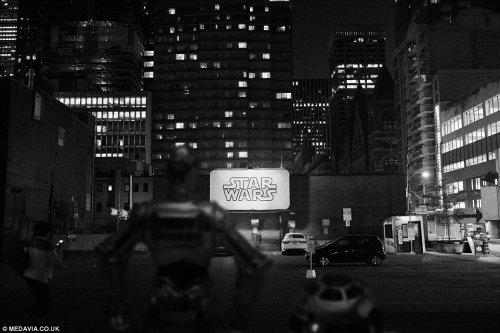"""""""Звёздные войны"""" в повседневной жизни в фотографиях Томаса Дагга (14 фото)"""
