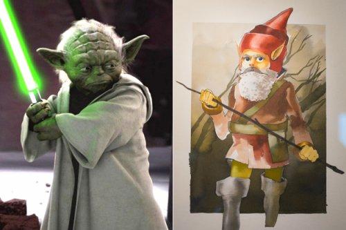Первоначальные образы известных персонажей (14 фото)