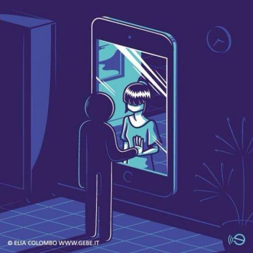 Современное общество в иллюстрациях Элии Коломбо (15 шт)