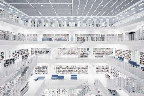 Библиотеки Европы в фотографиях Тибо Пуарье (8 фото)