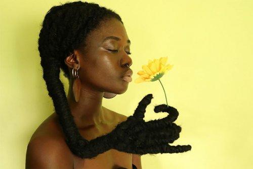Арт из волос от Летиции Кай (18 фото)