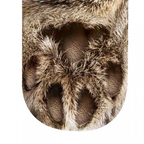 Необычные носки в виде кошачьих и собачьих лап (4 фото)