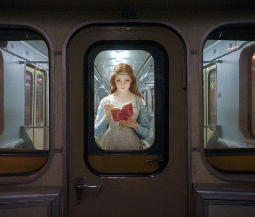 С полотен классических картин — в современную жизнь (19 фото)