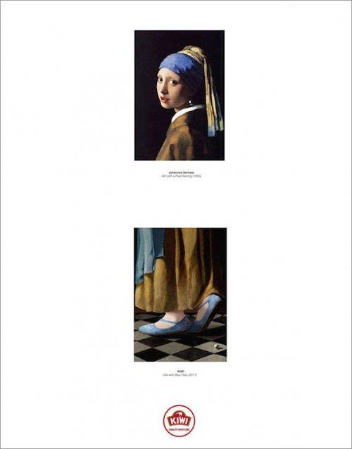 Реклама, завершившая знаменитые картины, показав обувь персонажей, стала победителем Каннских львов-2017 (8 фото)