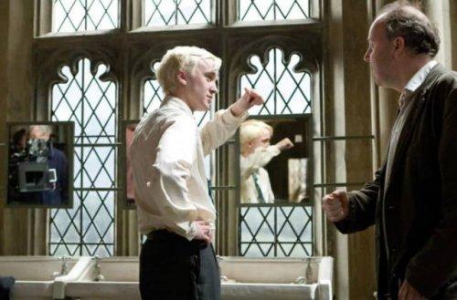 Закулисье фильмов про Гарри Поттера (22 фото)