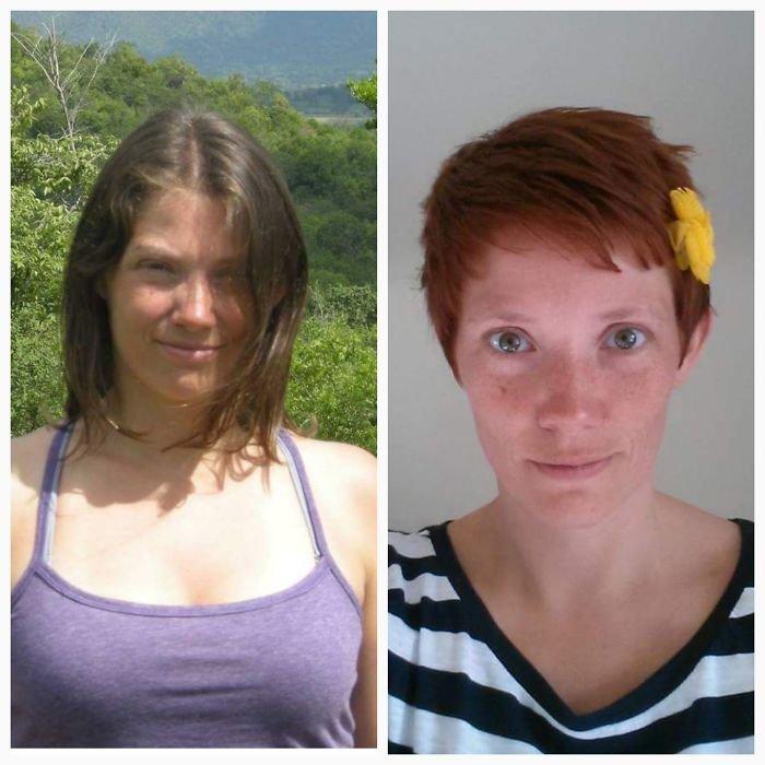 Ваши неудачные стрижки фото до и после