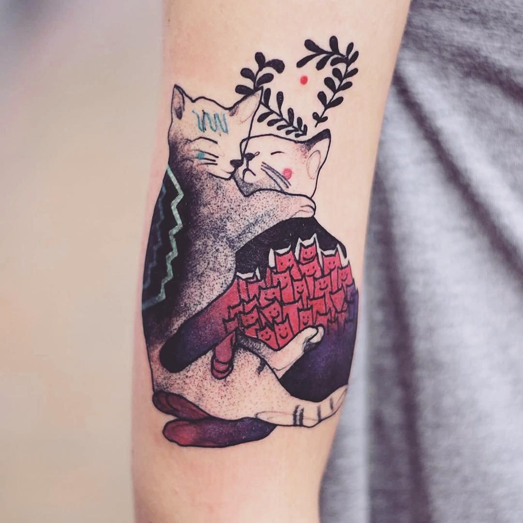 Изысканные татуировки Йоанны Свирской (10 фото)
