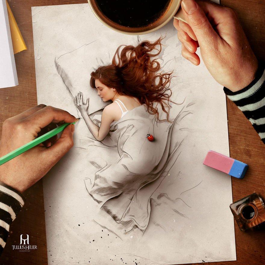 Как сделать фото как будто нарисовано красками
