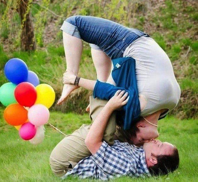 Смешные романтичные картинки