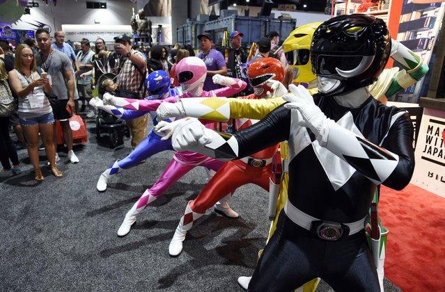 Comic Con International 2017 в Сан-Диего (18 фото)