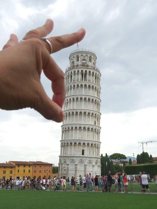 Смешные картинки с пизанской башней