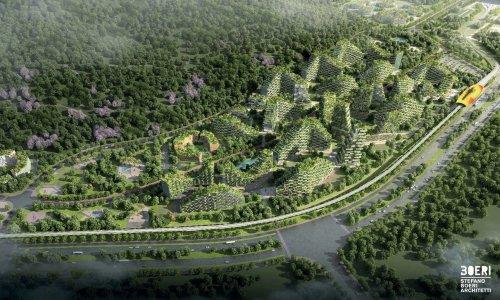 """В Китае начали строить """"город-лес"""" (7 фото)"""