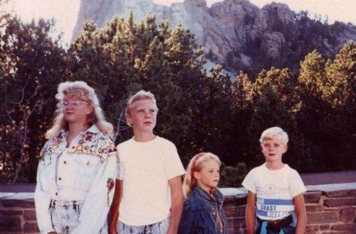 Забавные и нелепые отпускные семейные фотографии (25 шт)