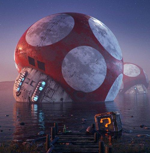 Апокалипсис поп-культуры в серии работ цифрового художника Филиппа Ходаса (14 фото)