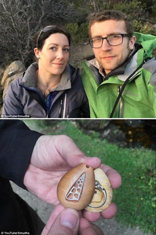 Топ-5: самые невероятные места, в которые когда-либо прятали помолвочные кольца