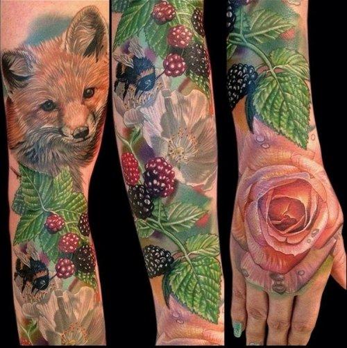 Впечатляющие татуировки на любой вкус (20 фото)