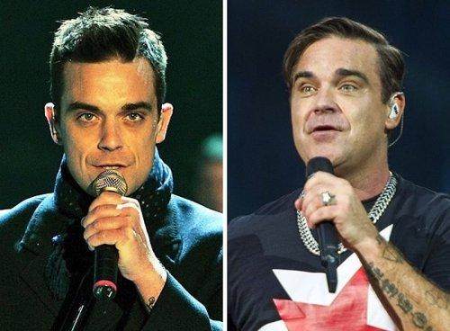 Популярные знаменитости тогда и сейчас (11 фото)