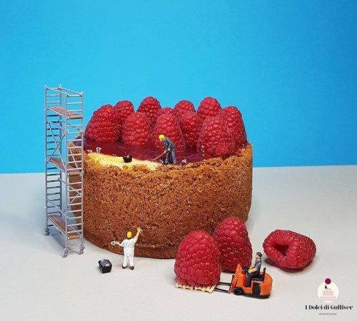 Сладкие миниатюры кондитера Маттео Стукки (21 фото)