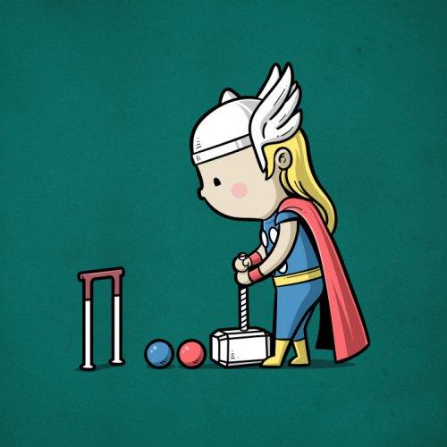 Как популярные супергерои могли бы использовать свои способности в спорте (11 фото)