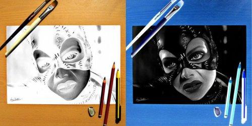 Инвертированные рисунки Лиама Йорка (8 фото)