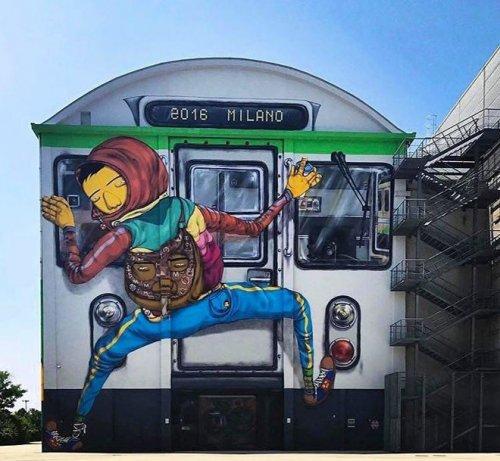 Стрит-арт по всему миру (19 фото)