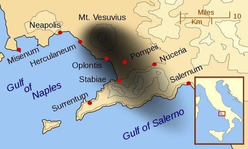 Геркуланум – малоизвестный сосед города Помпеи (11 фото)