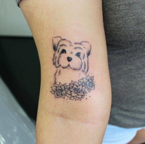 Татуировки для любителей суккулентов (24 фото)