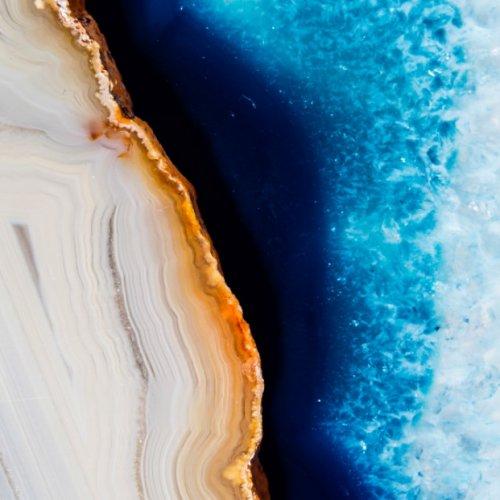 Минералы в фотографиях Саиды Валенсуэлы, похожие на завораживающие ландшафты (18 фото)