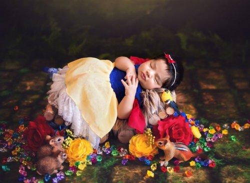 Очаровательные диснеевские минипринцессы в фотосессии Карен Мари (13 фото)
