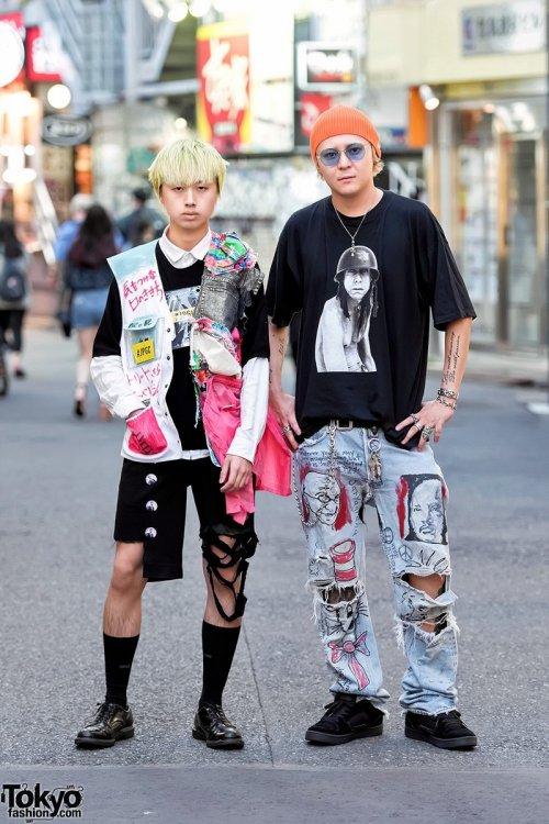 Модники и модницы на улицах Токио (29 фото)