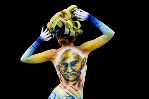 Фестиваль бодиарта World Bodypainting Festival 2017 в Клагенфурте (30 фото)