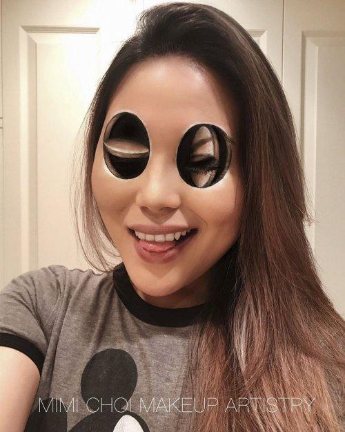 Сюрреалистичный макияж от Мими Чой (24 фото)