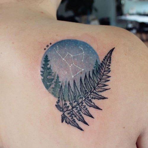 Татуировки от Эмили Кол, вдохновлённые природой (16 фото)