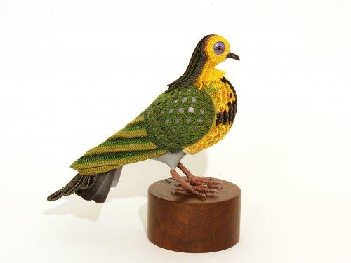 Красочные вязаные костюмы для птиц от Лорел Рот Хоуп (8 фото)