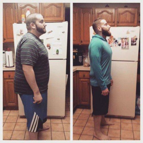 Невероятные перевоплощения из толстых — в стройняшек (17 фото)