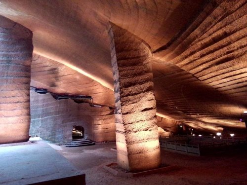 Загадка пещер Лунъю (5 фото)