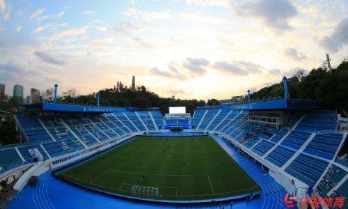 Перекрасив домашний стадион на удачу, китайская футбольная команда стала выигрывать (3 фото)