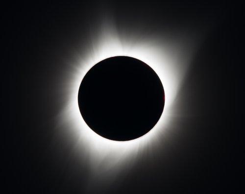 Полное солнечное затмение 2017 года (14 фото)