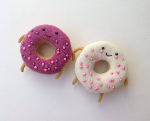 Новые войлочные игрушки от Анны Довгань (8 фото)