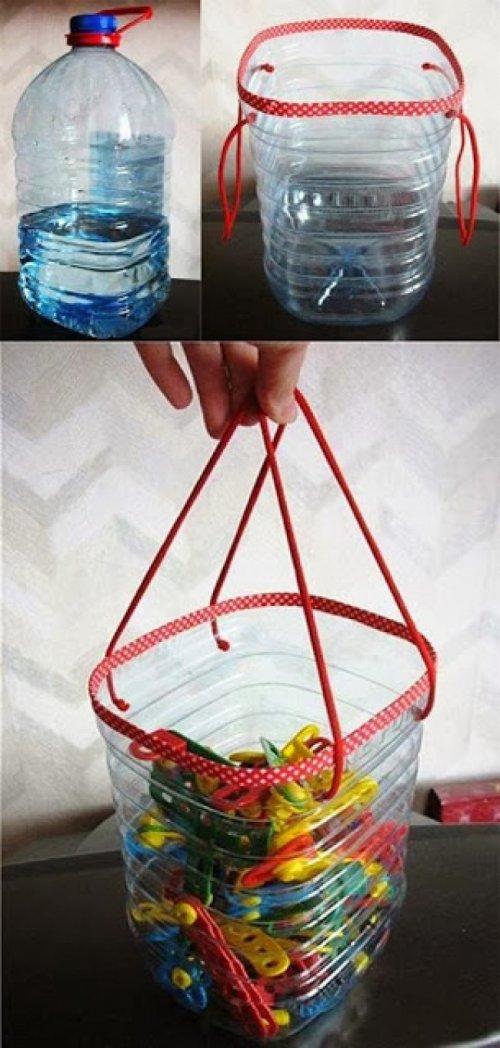 Что можно сделать из пластиковых бутылок (15 фото)