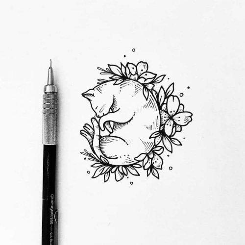 Татуировки мексиканской художницы Соллефе (21 фото)