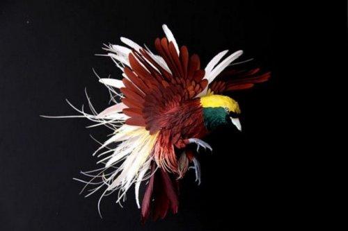 Великолепные шедевры бумажного искусства (28 фото)