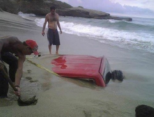 Необычные аварии и впечатляющие ДТП (22 фото)