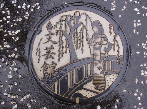 Искусство японских люков (32 фото)