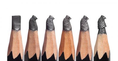 Скульптуры на кончиках карандашей, вдохновлённые фильмом